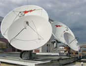 Transmit & Receive Satellite Antennas